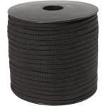 Imiteret faldskærmsline, 5 mm, sort, 50 m
