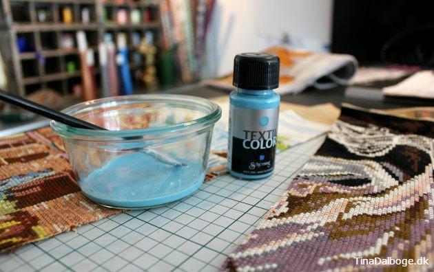 tekstilmaling frisker puden op