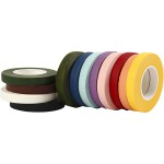 Blomstertape, B: 12 mm, 12x27 m