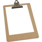 Clipboard, A5 19x27 cm, 1 stk.