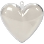 Deko-hjerte, H: 6,5 cm, 10 stk.