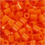 PhotoPearls, klar orange (13), 1100 stk. 5x5 mm.