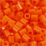 PhotoPearls, klar orange (13), 6000 stk. 5x5 mm.