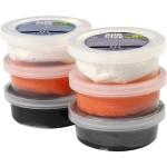 Silk Clay®, ass. farver, halloween, 6x14 g
