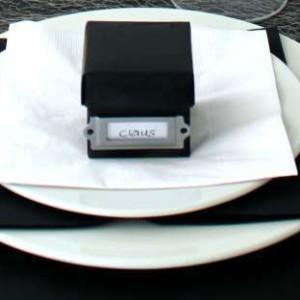 fold selv kasse som bordkort