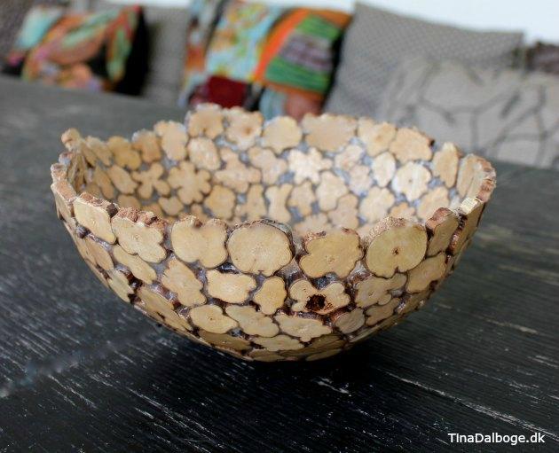 DIY skål af træmix med paverpol fra Kreahopshop