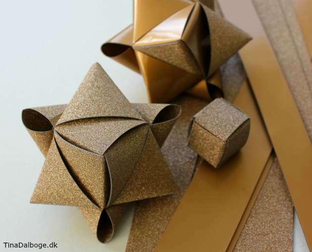 Hvordan fletter man en julestjerne