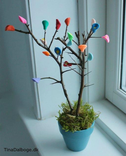 Leg med modellervoks og lav et træ med Silk Clay