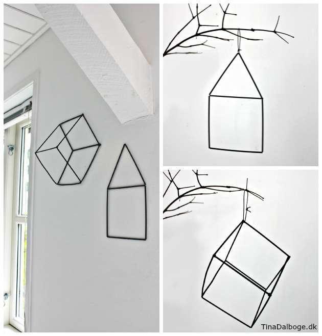 Inspiration til væg og ophæng til boligen
