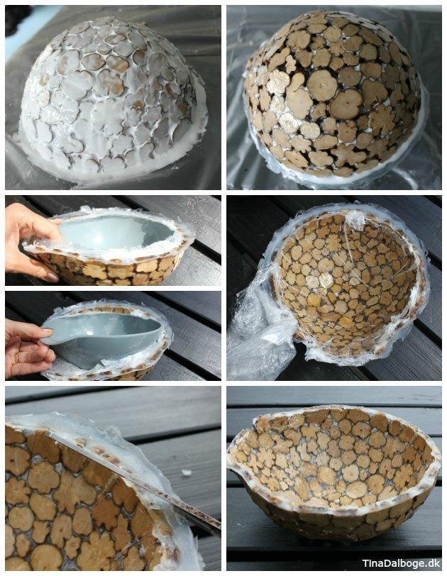 inspiration til hvordan man kan bruge paverpol til at lave en skål