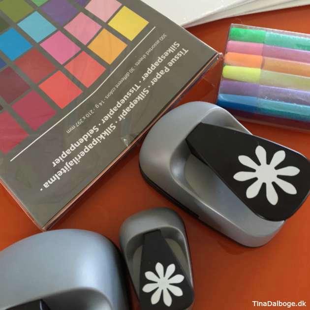 kreativ ide med børn stansejern fra kreahopshop