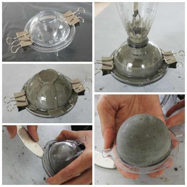 Brug lysforme til beton - lav kugler og lysestager