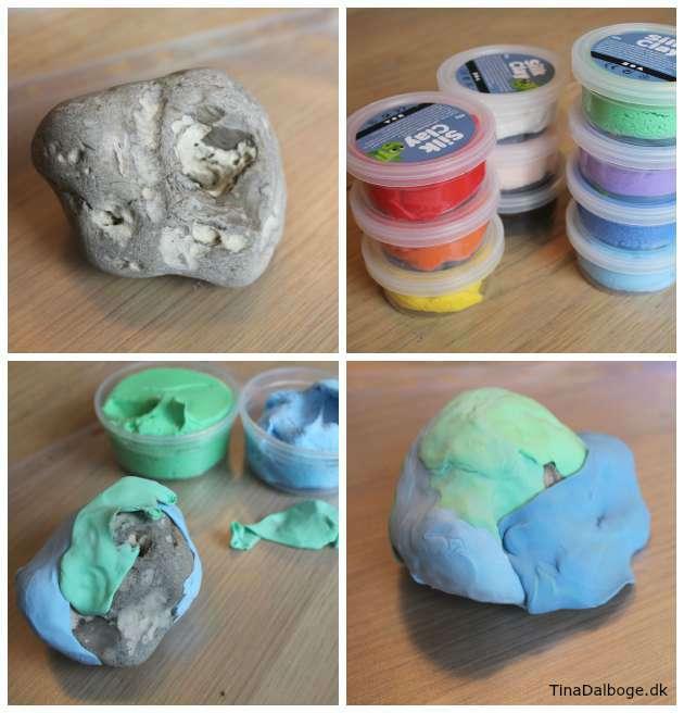 ide til modellering med silk clay lav selv sjove figur