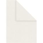 Strukturpapir, 21x30 cm, råhvid, 20 ark