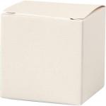 Fold-selv-æske, 5,5x5,5 cm, råhvid, 10 stk.
