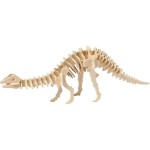 3D Puzzle med APP, 35,5x7,5x12 cm, krydsfiner, Apatosaurus, 1 stk.