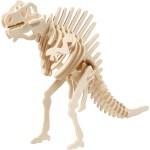 3D Puzzle med APP, 24x10,5x22 cm, krydsfiner, Spinosaurus, 1 stk.
