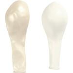 Balloner, 26 cm, perlemor, runde, 10 ass.