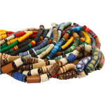 Indian beads, 5-10 mm, 24x40 cm