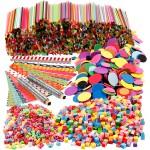 Farverig pynt, Materialesæt, min. 20 børn