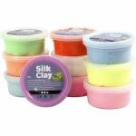 Se udvalget af silk- og Foam clay: