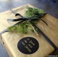 Få idéer til gaveindpakning