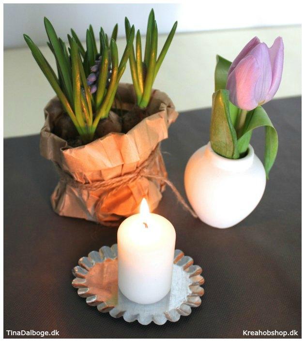 ideer til bordpynt til fester og konfirmationer om foråret