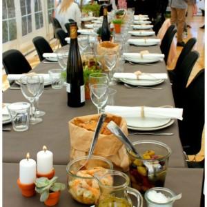 inspiration til fester bordpynt på en mere rå og anderledes måde
