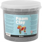 Foam Clay®, sølv, metallic, 560g