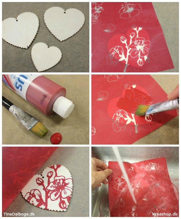 Sådan laver du en anderledes og unik julepynt formet som julehjerter