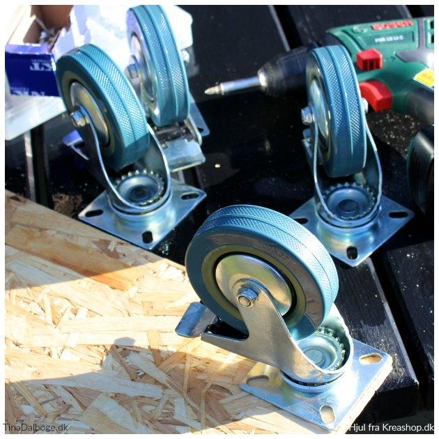 billige møbelhjul med bremse fra kreashop