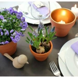 borddækning og bordpynt se ideer i kreashop