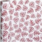 Gavepapir, B: 50 cm, 80 g, Rød kollektion, Kogler, 150m