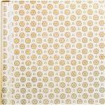 Gavepapir, B: 50 cm, 80 g, Lys kollektion, Kakler, 3m