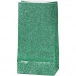 Papirsposer, H: 17 cm, str. 6x9 cm, grøn, 8stk., 80 g