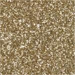 Manillamærker, str. 5x10 cm, 300 g, guld, glitter, 15stk.