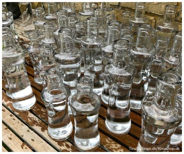 vaser til borddækning til fester tinadalboge