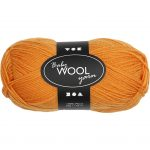 Babygarn, L: 172 m, orange, NM 14/4, 50g