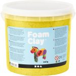 Foam Clay®, gul, metallic, 560g
