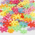 Figurmix, diam. 7-13,5 mm, hulstr. 2 mm, ass. farver, ca. 750 stk., 125ml, ca. 50 g