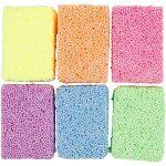 Soft Foam, ass. farver, 6x10g