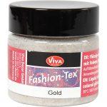 Fashion-Tex tekstilmaling, gold, 45ml